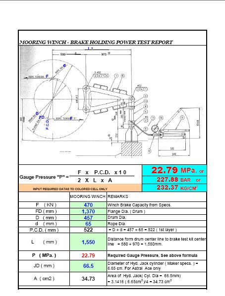 How To Test A Ballast >> Mooring Winch&Windlass – EUREKA MARINE ENGINEERING CO., LTD